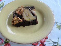 CHOCOLATE PBJ BANANA UPSIDE DOWN DUMP CAKE
