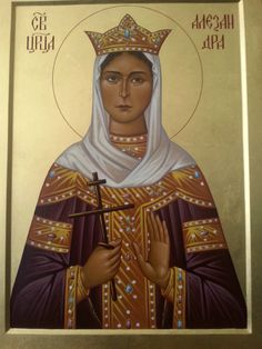 Alexandra Feodorovna icon