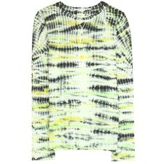 TIE DYE LONG SLEEVE TISSUE TOP  seen @ www.mytheresa.com