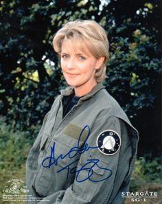 Amanda Tapping autograph