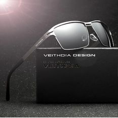 1d1345089d VEITHDIA Stainless Steel Men s Sun Glasses Polarized Driving Oculos  masculino Male Eyewear Accessories Sunglasses For Men