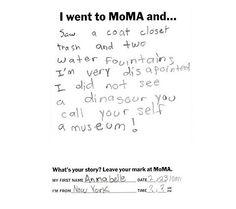 A Little Girl's Thoughts On Modern Art