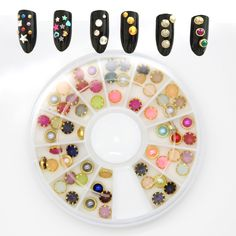 $0.89 Find More Rhinestones & Decorations Information about About 60Pcs/Box New…