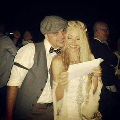 Ana en el día de su boda. Esencia 100%  Immacle novias. www.immacle.com