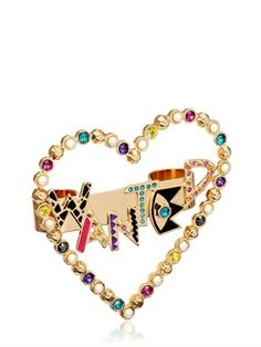 Maria Francesca Pepe WANTED DOUBLE FINGER RING