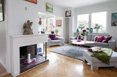 decorating apartment living room | Beautiful Apartment Design Interior and Friendly