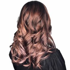 Rose Blonde Balayage   Don't let your blonde friends beat you to the rose-tinted punch. Rose gold has been getting a lot of love lately, from sparkling engagement rings to shimmery eye shadow palettes; and though plenty of blondes are now diving into the rose gold hair color trend too, there's a brilliant rose-hued rendition for brunettes that's shines whether you're starting with caramel brown or deep mocha. Dubbed 'rose brown,' this hair color trend is giving brunettes a chance to drench…