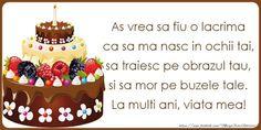 Urari Haioase Zile Nastere Birthday Cake, Desserts, Food, Mai, Youtube, Tailgate Desserts, Deserts, Birthday Cakes, Essen