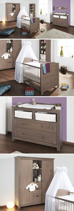 Trend Qualit ts Babyzimmer Jelka Betten de babyzimmer babybett wickelkommode
