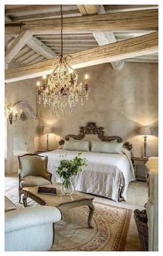 French Style Decor, French Country Rug, French Country Bedrooms, French Cottage, Bedroom Country, Country Style, Tuscan Decorating, French Country Decorating, Decorating Ideas