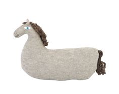 HORSE soft knitted toy/cushion