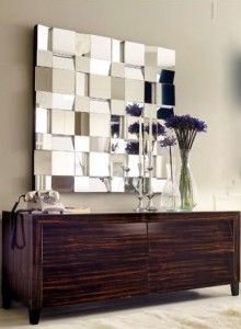 Mosaic Multi-Facet Mirror - Wall Mirrors - Mirrors - Graham and Green Decorating Your Home, Interior Decorating, Interior Design, Feng Shui Mirrors, Spiegel Design, Beautiful Mirrors, Mirrors Unusual, Fancy Mirrors, Square Mirrors