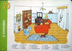 Pag 30 La casa: il soggiorno