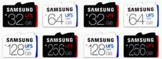 Samsung has announced a new line of Universal Flash Storage (UFS) products that promise solid-state drive-like speeds in a tiny package. These cards range from 32GB to 256GB and are designed for sm…