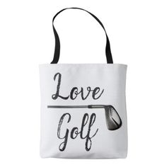Love Golf Tote Bag - love gifts cyo personalize diy