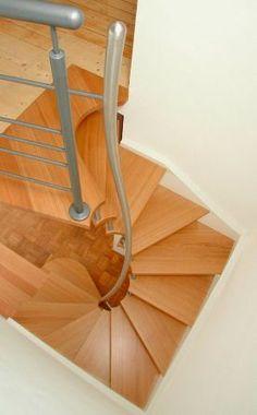 Лестница с пространственной экономичностью - лестница с пространственной экономией - Escalier peu encombrant - экономичная лестница