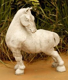 Peking Horse, Oriental Sculptures Statues  Figurines Statuary For The Garden
