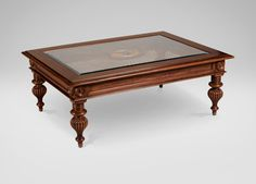 Lighting: windward coffee table coffee tables ethan allen within great etha Square Glass Coffee Table, Coffee And End Tables, Coffee Table Design, Glass Table, Living Room Sofa Design, Living Room Furniture, Console Table, Furniture Styles, Furniture Design