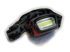 Linterna frontal 3W LED COB Electro dh 60.340/1