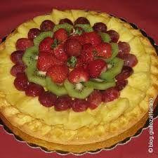 Risultati immagini per torte rettangolari decorate con frutta