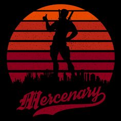 Mercenary Sun Set #deadpool #merc #mercwithamouth #apparel #tee