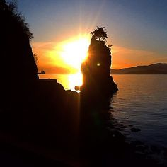 """""""There is a crack, there is a crack in everything, that's how the light gets in"""" - Leonard Cohen ------------------------------------ #quotes #LeonardCohen #Anthem #liveit #loveit #inspire #Inspiration #SiwashRock #beauty #nature #harmony #treeoflife #sunset #supernaturalbc #vancouver #vancouversunset #YVR #yvrsunset #bikeride #adventures #veryvancouver #vancouverisawesome #vancitybuzz #igersvancouver #lovevancouver"""