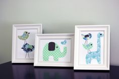 DIY baby wall art- cute gift for someone
