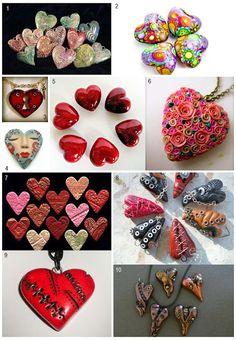 Polymer Clay Polyzine: Be My Clay Valentine!