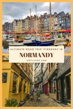 Planning a road trip in Normandy? This itinerary includes a visit to Mont Saint Michel, Étretat, D-Day landing beaches, German bunkers, and a château hotel! Europe Destinations, Europe Travel Guide, France Travel, Paris Travel, Budget Travel, Travel Guides, Corsica, Etretat France, D Day Landings