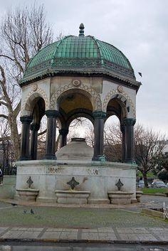German Fountain, Alman Çeşmesi, Sultanahmet