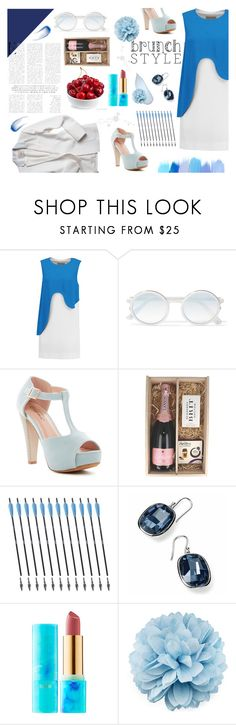 """""""Brunch with mom"""" by denisse-ponce ❤ liked on Polyvore featuring Emilio Pucci, Sunday Somewhere, DuÅ¡an, Top Moda, tarte, Gucci and Lipstick Queen"""