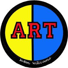 "For the ""art lovers"" wear an Art statement."