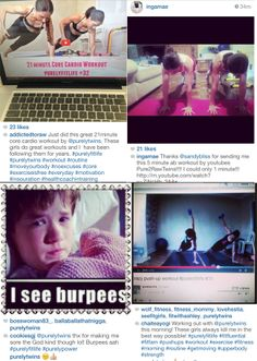 Purely Fitters sharing their workout pics! #purelyfitlife #purelytwins