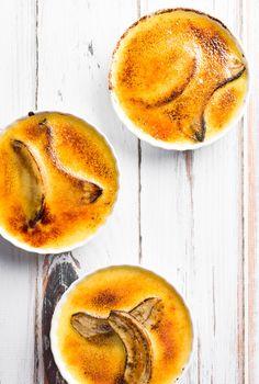 Banana crème brûlée
