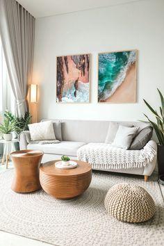 Boho Living Room, Home And Living, Earthy Living Room, Nordic Living Room, Simple Living Room Decor, Black And White Living Room Decor, Living Room Wall Art, Barn Living, Living Room No Tv