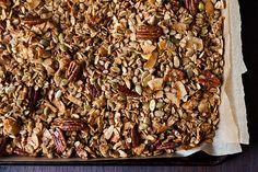 Nekisia Davis' Olive Oil and Maple Granola