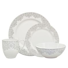 Denby Monsoon Filigree Silver