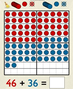 Hundred Frame: a virtual math manipulative similar to Twenty Frame. Add counters to the hundred square in ones or tens and the digits change. Use it to work with addition or subtraction. Also available as a 69p iOS app: Hundreds Frame.