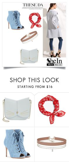 """""""shein"""" by masa2468 ❤ liked on Polyvore featuring Ted Baker, rag & bone, Gianvito Rossi and Miss Selfridge"""