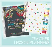 Life Planners and Teacher Planners.  Doesn't get much better from Erin Condren!