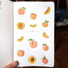 My cover page for my peach-themed April : bulletjournal My cover pag. - My cover page for my peach-themed April : bulletjournal My cover page for my peach-them - Bullet Journal Headers, Bullet Journal Month, Bullet Journal Writing, Bullet Journal Cover Page, Bullet Journal Aesthetic, Bullet Journal Notebook, Bullet Journal Spread, Bullet Journal Inspo, Bullet Journal Layout