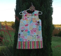 Forest LifeOwls & Birds Dress infant baby by SewSusanCreations, $27.00