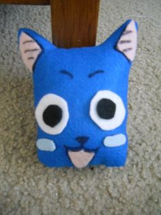 Happy Plush from the Anime Fairy Tail that I've currently started watching. He's my favorite character