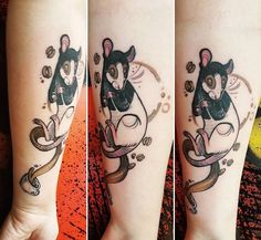 Fuki Fukari rat tattoo