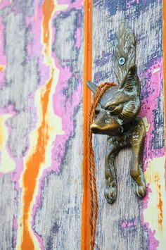 Foxy Door Knocker via: Behind The Lens Lukey #travel #photography