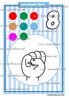 Alfabeto Ilustrado em Libras + numerais arquivo digital envio por e-mail - ESPAÇO EDUCAR