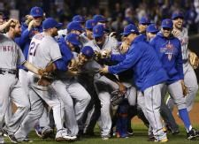 Mets sweep Cubs to reach World Series