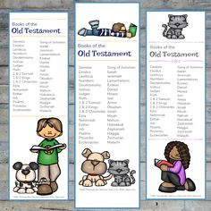 Old Testament Bible Bookmarks - Path Through the Narrow Gate Devotions For Kids, Bible Activities For Kids, Bible Stories For Kids, Bible Resources, Free Games For Kids, Bible For Kids, Children's Church Crafts, Catholic Crafts, Sunday School Projects