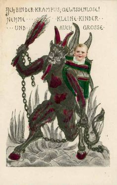 December 6 -- Busiest Shopping Day of the Year FOR KRAMPUS