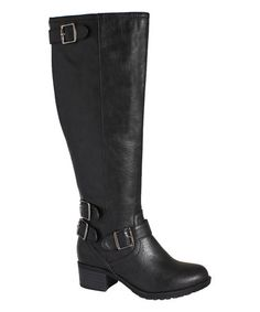 Wide-calf boots with such great style. Can't wait for these to arrive! Love this so much I ordered it! From #zulily